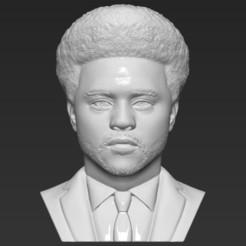 1.jpg Download STL file The Weeknd bust 3D printing ready stl obj formats • 3D printing model, PrintedReality