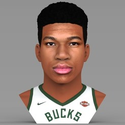 untitled.1932.jpg Download STL file Giannis Antetokounmpo bust ready for full color 3D printing • 3D printable model, PrintedReality