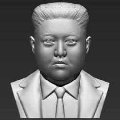 Télécharger fichier impression 3D Kim Jong-un buste buste 3D prêt à l'impression stl obj stl, PrintedReality