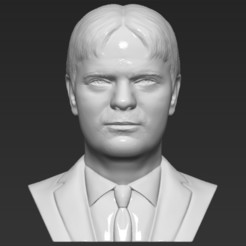 1.jpg Download STL file Dwight Schrute bust 3D printing ready stl obj formats • 3D printer object, PrintedReality