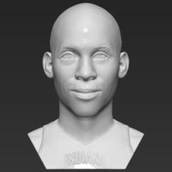 1.jpg Download STL file Reggie Miller bust 3D printing ready stl obj formats • 3D print object, PrintedReality