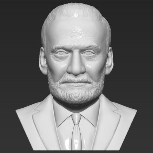 Buzz Aldrin bust 3D printing ready stl obj formats