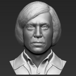 1.jpg Download STL file Anton Chigurh bust 3D printing ready stl obj formats • 3D printable template, PrintedReality