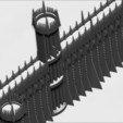 Télécharger fichier STL La Porte Noire du Mordor du Seigneur des Anneaux stl obj stl, PrintedReality