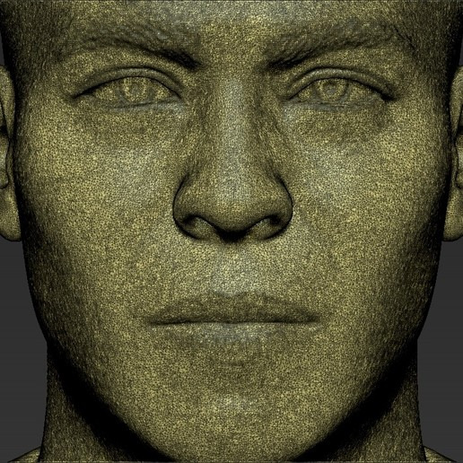 25.jpg Download STL file Ronaldo Nazario Brazil bust 3D printing ready stl obj formats • Template to 3D print, PrintedReality