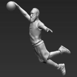 james-harden-3d-printing-ready-stl-obj-formats-3d-model-obj-mtl-fbx-stl-wrl-wrz.jpg Download STL file James Harden 3D printing ready stl obj • 3D printable model, PrintedReality