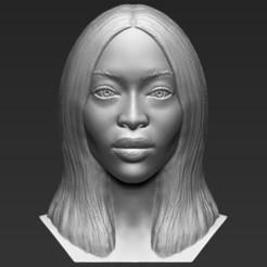 1.jpg Télécharger fichier STL Naomi Campbell fait sauter les formats stl obj prêts pour l'impression 3D • Plan pour imprimante 3D, PrintedReality