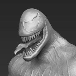 Descargar modelo 3D Venom 3D printing ready stl obj, PrintedReality