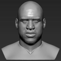 shaq-oneal-bust-ready-for-full-color-3d-printing-3d-model-obj-mtl-stl-wrl-wrz (16).jpg Download STL file Shaq ONeal bust 3D printing ready stl obj • 3D printer template, PrintedReality