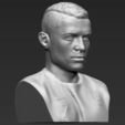STL file Cristiano Ronaldo bust ready for full color 3D printing, PrintedReality
