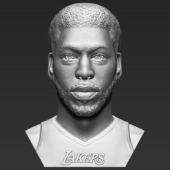 1.jpg Download STL file Anthony Davis bust 3D printing ready stl obj formats • 3D printing design, PrintedReality