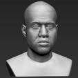 Modelos 3D para imprimir Busto Kanye West listo para la impresión 3D a todo color, PrintedReality