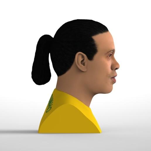 untitled.1684.jpg Download STL file Ronaldinho bust ready for full color 3D printing • 3D print model, PrintedReality