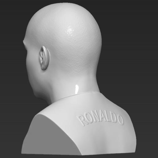 5.jpg Download STL file Ronaldo Nazario Brazil bust 3D printing ready stl obj formats • Template to 3D print, PrintedReality