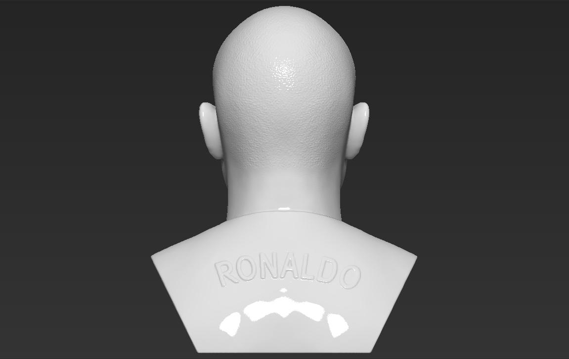 6.jpg Download STL file Ronaldo Nazario Brazil bust 3D printing ready stl obj formats • Template to 3D print, PrintedReality