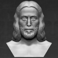 3D printing model Jesus reconstruction based on Shroud of Turin 3D printing ready, PrintedReality