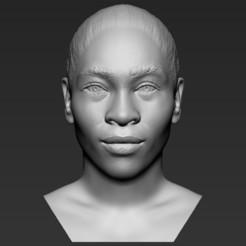1.jpg Download STL file Serena Williams bust 3D printing ready stl obj formats • 3D printing design, PrintedReality