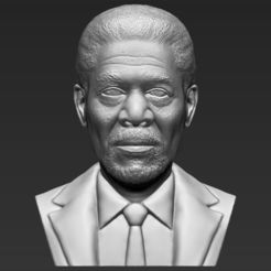 morgan-freeman-bust-ready-for-full-color-3d-printing-3d-model-obj-mtl-fbx-stl-wrl-wrz (22).jpg Télécharger fichier STL Morgan Freeman fait sauter l'impression 3D stl obj • Plan à imprimer en 3D, PrintedReality