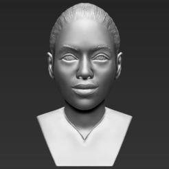 Fichier STL Beyonce Knowles Buste Beyonce Knowles impression 3D prêt à l'emploi stl obj, PrintedReality