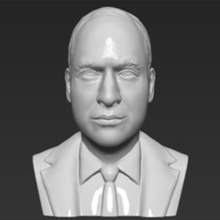Archivos 3D Prince William bust 3D printing ready stl obj, PrintedReality