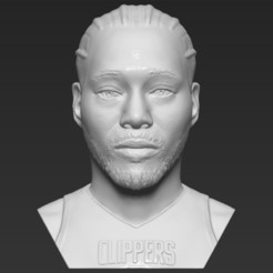 1.jpg Download STL file Kawhi Leonard bust 3D printing ready stl obj formats • 3D printer object, PrintedReality