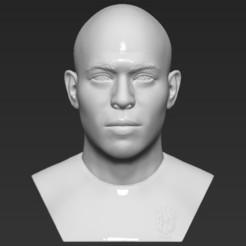 1.jpg Download STL file Ronaldo Nazario Brazil bust 3D printing ready stl obj formats • Template to 3D print, PrintedReality