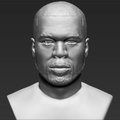 Télécharger plan imprimante 3D 50 Cent buste 3D prêt à l'impression stl obj d'impression 3D, PrintedReality