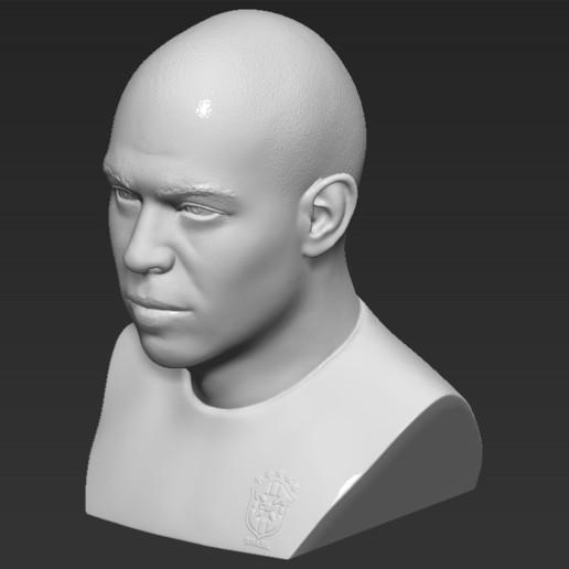 13.jpg Download STL file Ronaldo Nazario Brazil bust 3D printing ready stl obj formats • Template to 3D print, PrintedReality