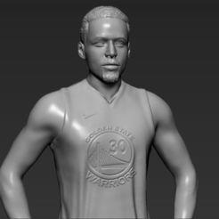 STL Stephen Curry 3D prêt à l'impression stl obj d'impression 3D, PrintedReality