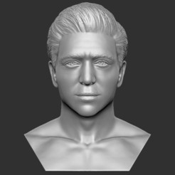 1.jpg Download STL file Handsome man bust 3D printing ready TYPE 3 • 3D printer model, PrintedReality