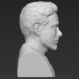 3D printer files Tony Stark Downey Jr Iron Man bust full color 3D printing ready, PrintedReality