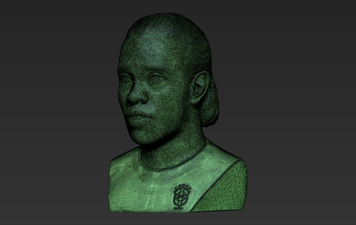 34.jpg Download STL file Ronaldinho bust ready for full color 3D printing • 3D print model, PrintedReality