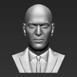 1.jpg Télécharger fichier STL Zinédine Zidane a arrêté l'impression 3D des formats stl obj prêts • Plan imprimable en 3D, PrintedReality
