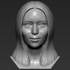 1.jpg Download STL file Jennifer Lawrence bust 3D printing ready stl obj formats • 3D printer model, PrintedReality