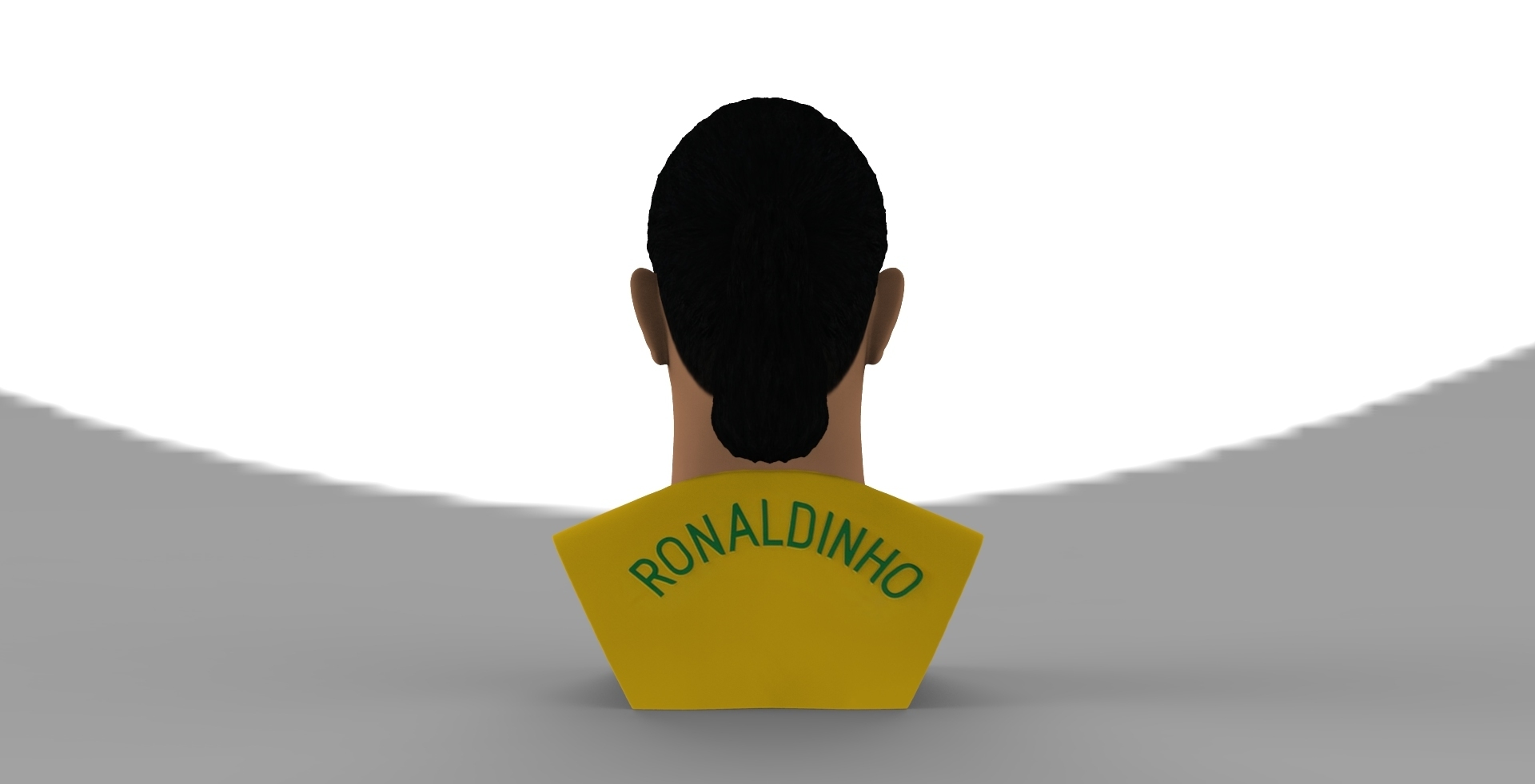 untitled.1683.jpg Download STL file Ronaldinho bust ready for full color 3D printing • 3D print model, PrintedReality