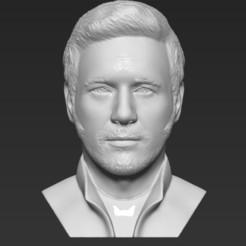 1.jpg Download STL file Star-Lord Chris Pratt bust 3D printing ready stl obj formats • 3D printable model, PrintedReality
