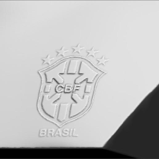 19.jpg Download STL file Ronaldinho bust ready for full color 3D printing • 3D print model, PrintedReality