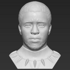 1.jpg Télécharger fichier STL Chad Boseman Black Panther buste 3D prêt à imprimer formats stl obj • Modèle à imprimer en 3D, PrintedReality