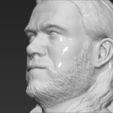 3D print model Thor Chris Hemsworth Avengers bust 3D printing ready stl obj, PrintedReality