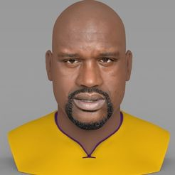 shaq-oneal-bust-ready-for-full-color-3d-printing-3d-model-obj-mtl-stl-wrl-wrz.jpg Download STL file Shaq ONeal bust ready for full color 3D printing • Template to 3D print, PrintedReality