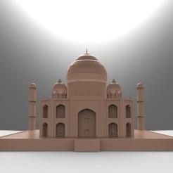 Bez_nazwy-4_display_large.jpg Download STL file Taj Mahal • 3D printing model, PrintedReality