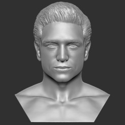 1.jpg Download STL file Handsome man bust 3D printing ready TYPE 1 • Object to 3D print, PrintedReality