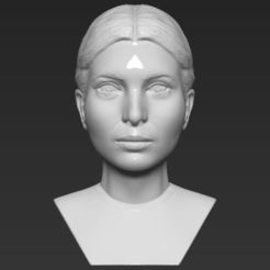 3D print model Ivanka Trump bust 3D printing ready stl obj, PrintedReality