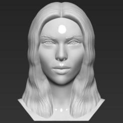 1.jpg Download STL file Scarlett Johansson bust 3D printing ready stl obj formats • 3D printable design, PrintedReality