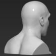 Télécharger fichier imprimante 3D Buste Mike Tyson prêt pour l'impression 3D couleur, PrintedReality