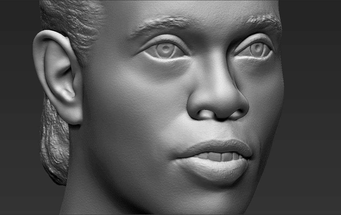 17.jpg Download STL file Ronaldinho bust ready for full color 3D printing • 3D print model, PrintedReality