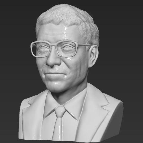73089556dcb ... PrintedReality STL Bill Gates bust 3D printing ready stl obj