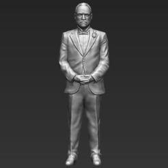 Descargar archivos STL Marlon Brando Vito Corleone Padrino 3D listo para imprimir stl obj, PrintedReality