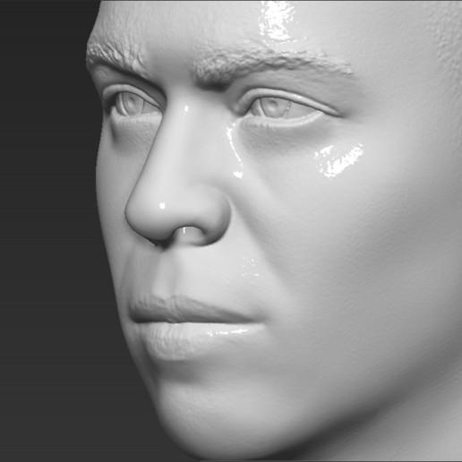 17.jpg Download STL file Ronaldo Nazario Brazil bust 3D printing ready stl obj formats • Template to 3D print, PrintedReality