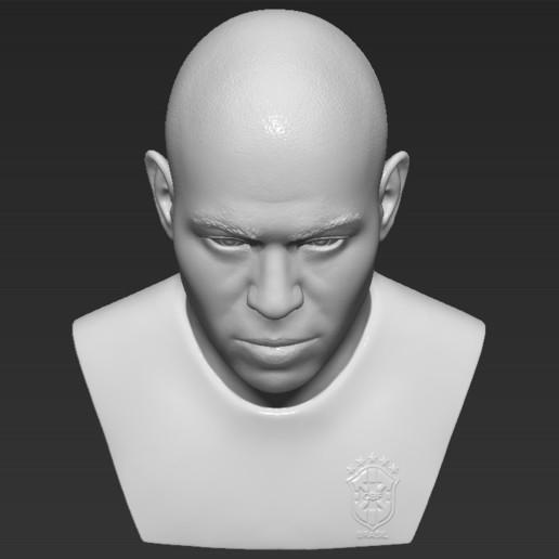 12.jpg Download STL file Ronaldo Nazario Brazil bust 3D printing ready stl obj formats • Template to 3D print, PrintedReality
